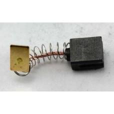 Электроугольная щетка 6х10х11 пружина, квадратный пятак, проточки для перфораторов