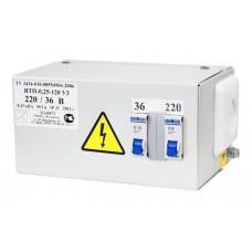 Ящик ЯТП-0.25 2АВ (220/36В)