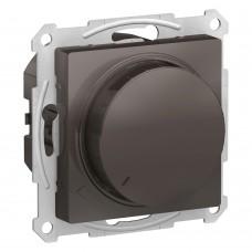 Светорегулятор (диммер) поворотно-нажимной, 315Вт, мех., МОККО ATLASDESIGN