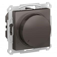 Светорегулятор (диммер) поворотно-нажимной, 630Вт, мех., МОККО ATLASDESIGN