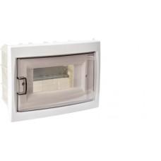 Бокс КНС-8Д 8-х местный для скрытой установки с дверцей