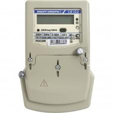 Счетчик электрической энергии СЕ 102 BY S6 145 AKV (5-60)А