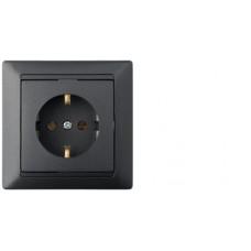Розетка РС16-306 графит