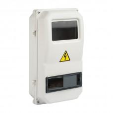 Щит учетно-распределительный навесной пластик ЩУРн-П 1/8 (366*200*117) IP55 EKF Basic