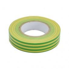 Изолента ПВХ 15мм*20м желто-зеленая ЭТП