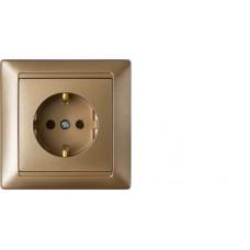 Розетка РС16-306 бронза