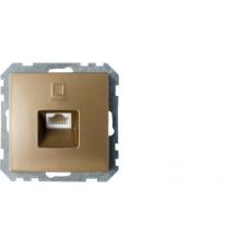 Розетка РК18-007 бронза