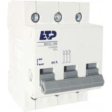 Выключатель нагрузки ВН32-100 3Р 80А ЕТР