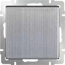 Выключатель одноклавишный (глянцевый никель) WL02-SW-1G WERKEL