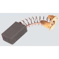 Электроугольная щетка 6х10х14мм ( пружина, пятак-уши) подходит для Makita СВ103А Titan