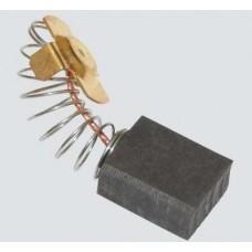 Электроугольная щетка 8х14,5х17мм (пружина, пятак-уши). Подходит для Интерскоп УШМ-2300 Wt Titan