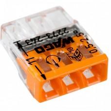 Клемма 2273-243 3-х провод.соединительная для распред.коробок с пастой Alu-Plus