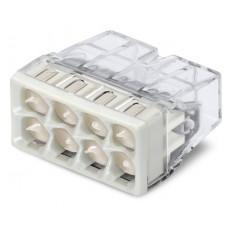 Клемма 2273-248 8-ми провод.соединительная для распред.коробок с пастой Alu-Plus